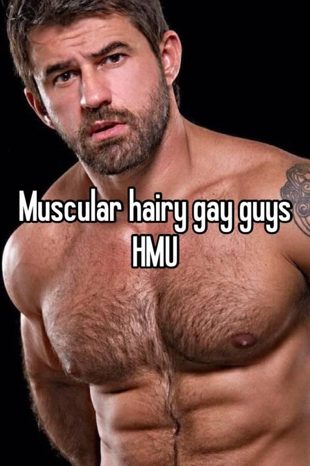 Hairy gay guys