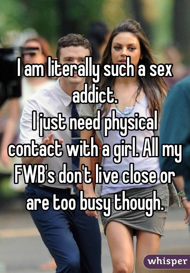 Am I Sex Addict