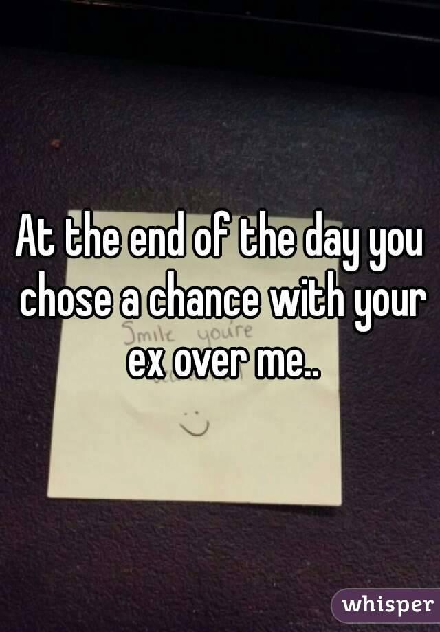 Is ex over me