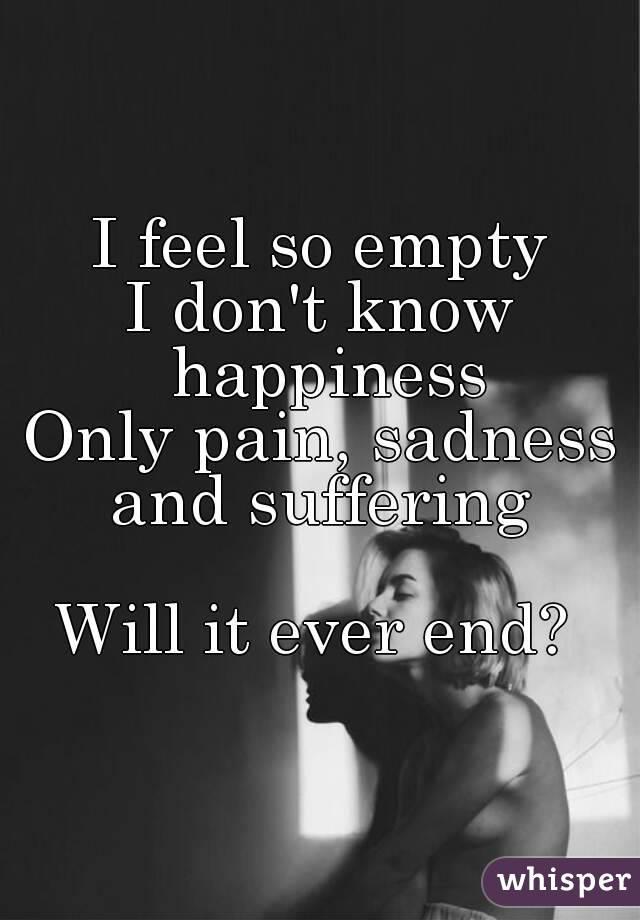Jeg føler ikke, at jeg har det her, jeg smerter hvorfor