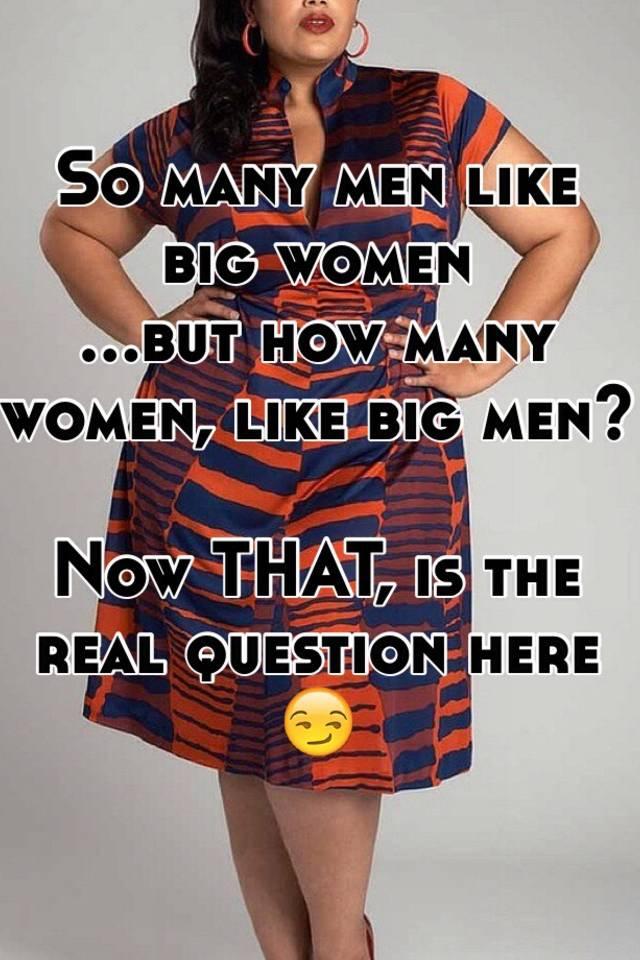 Men who like thick women