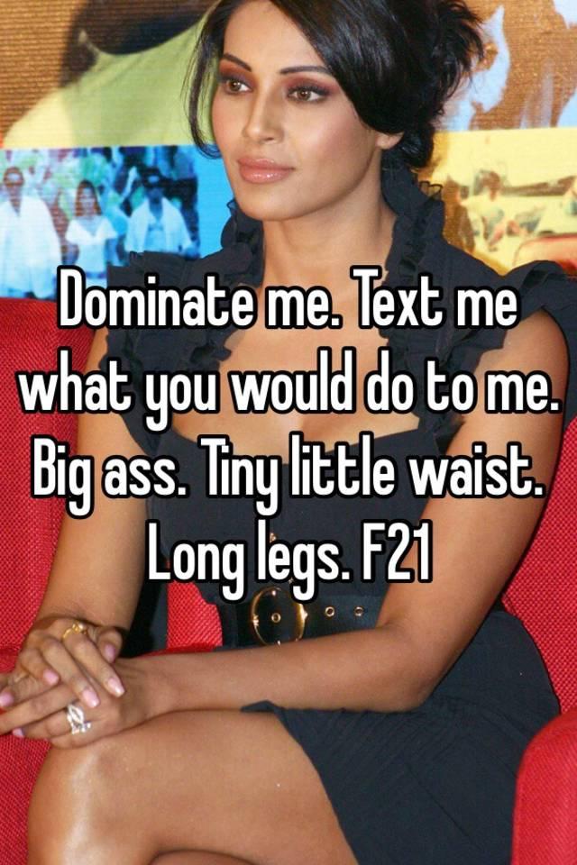 domination Long legs