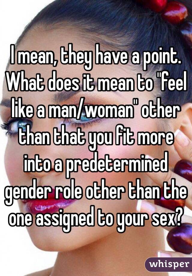 What does sex mean to women