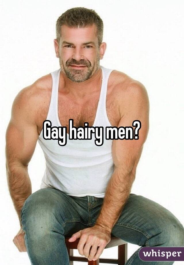 Pictures of hairy gay men