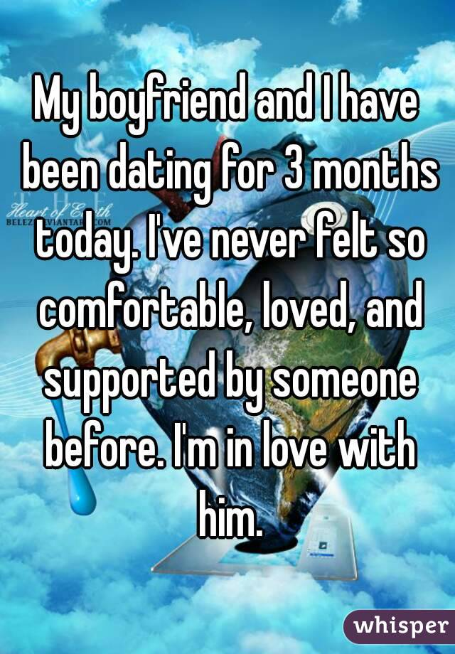 For Months Dating Now What 3