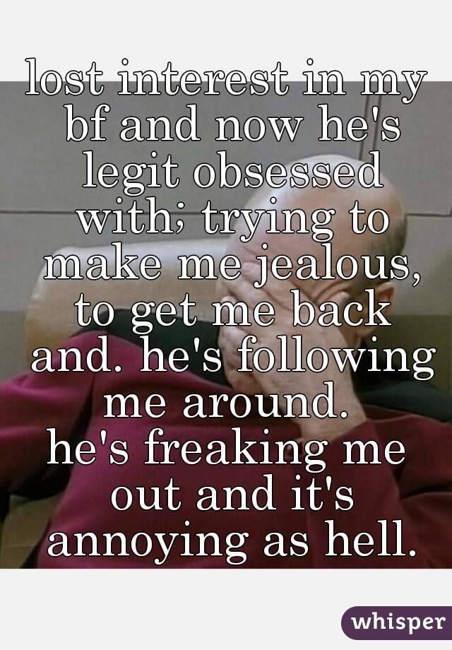 jealous of my boyfriends past