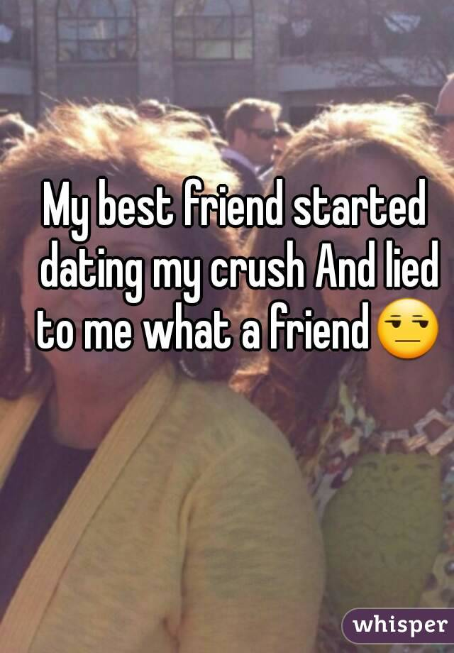 My Crush Started Dating My Friend