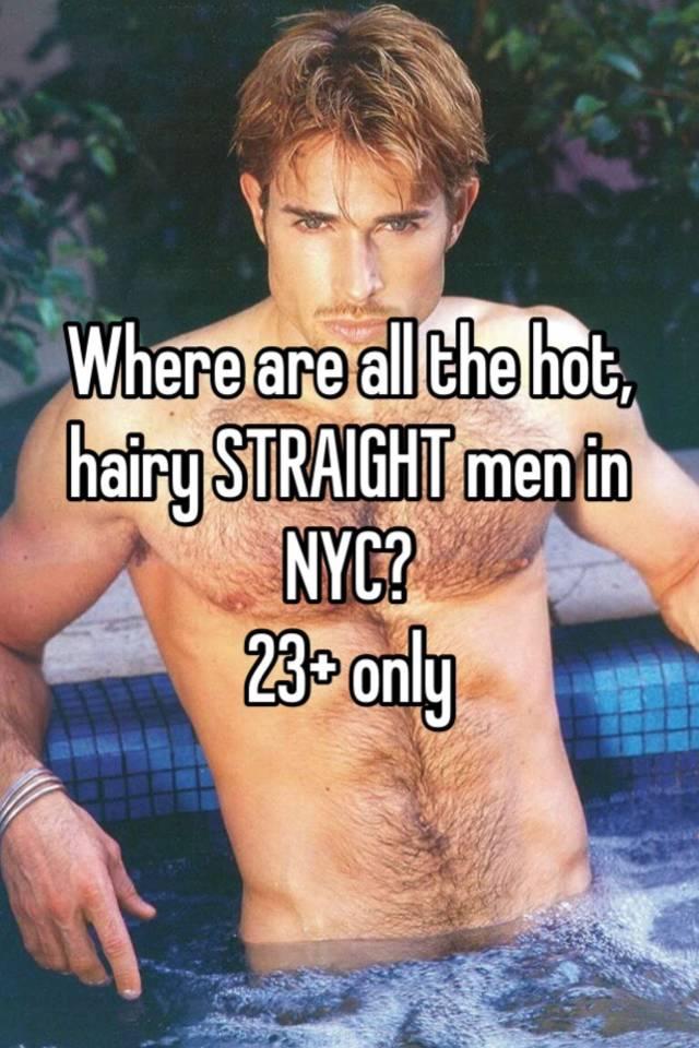 straight men only