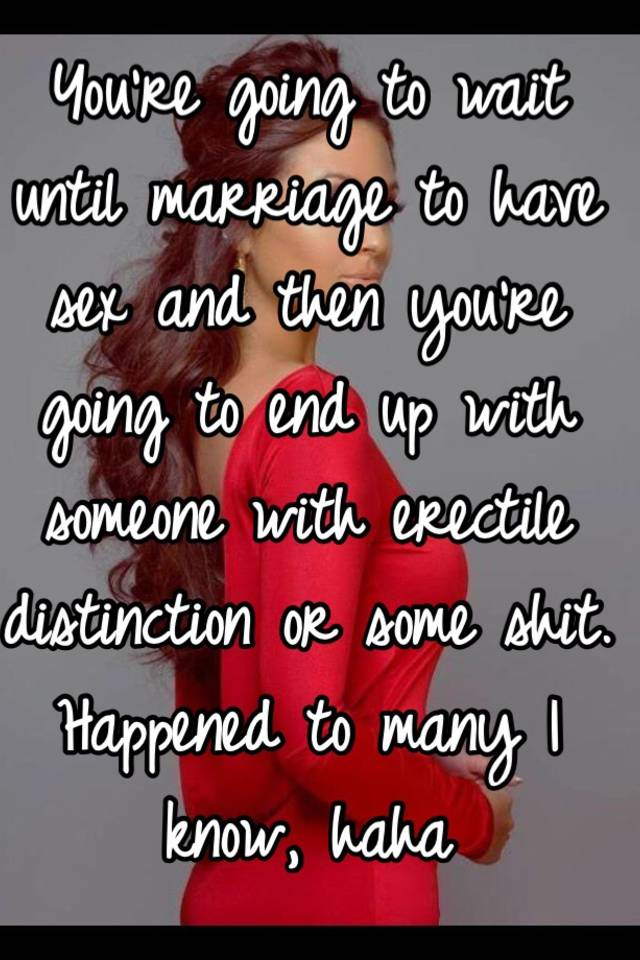 how to tell a guy you are waiting until marriage