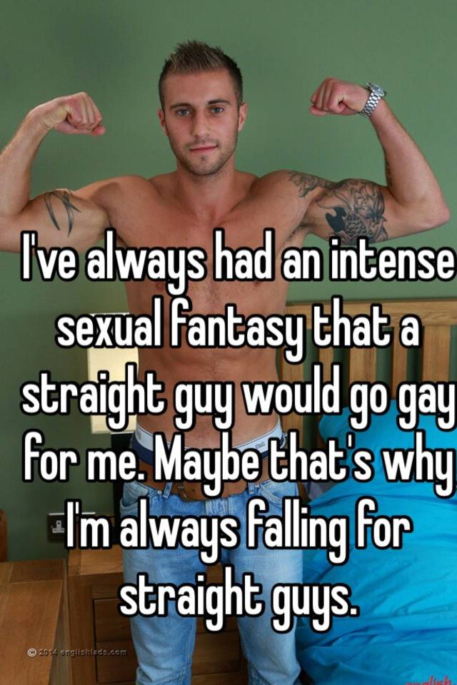 Gay straight guy