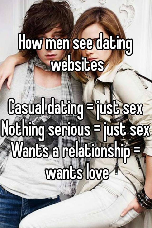 Just sex dating site