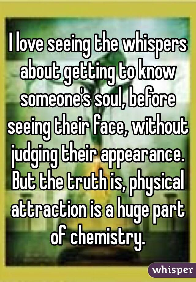 love without physical attraction