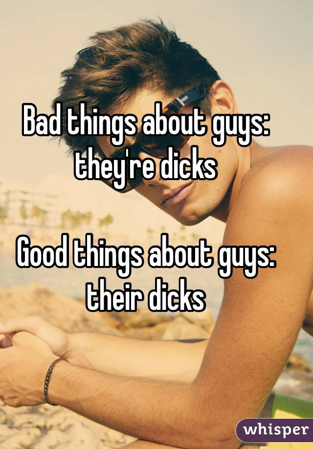 dicks with things