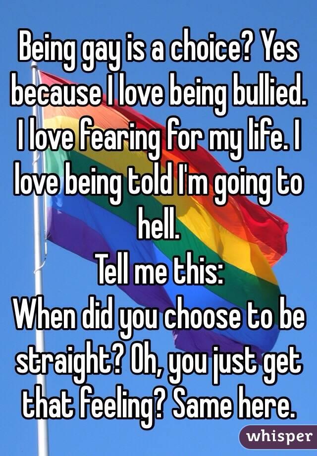 同性愛者であるためにいじめられた