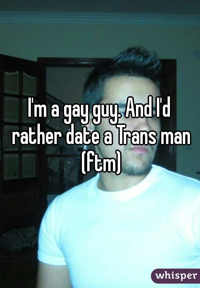 How to date a transman
