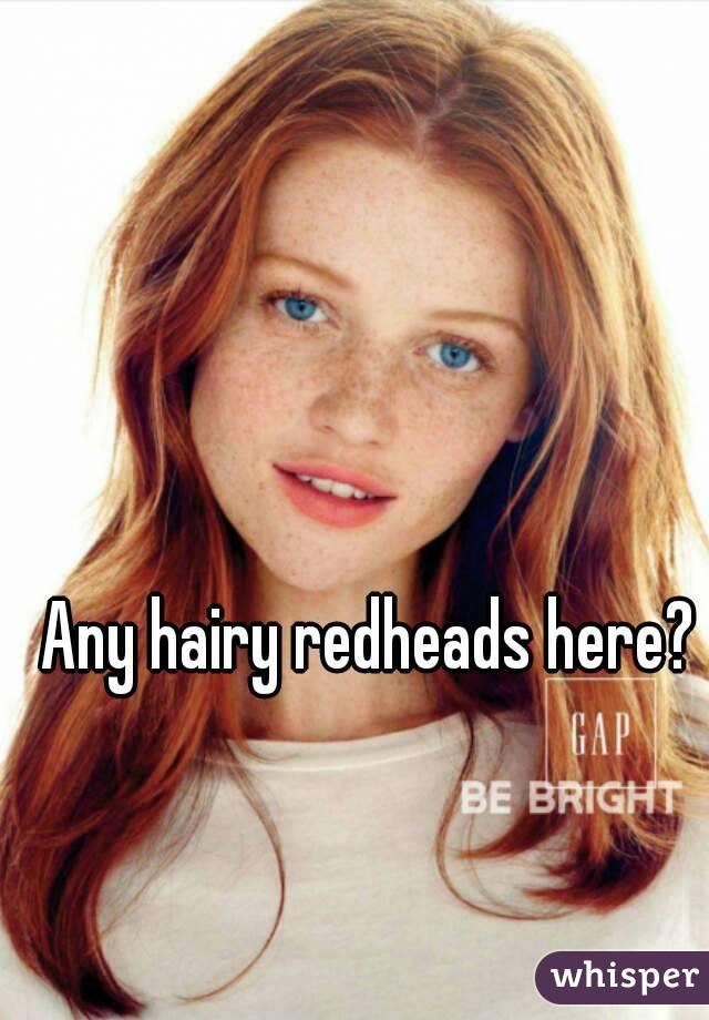 Hairy redhead students
