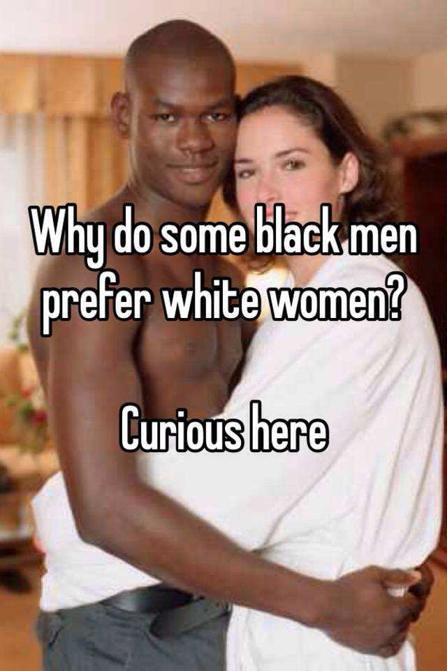 Black men prefer white women on dating site