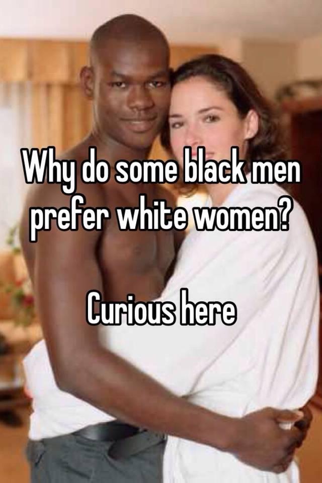 Black men prefer white women on dating site