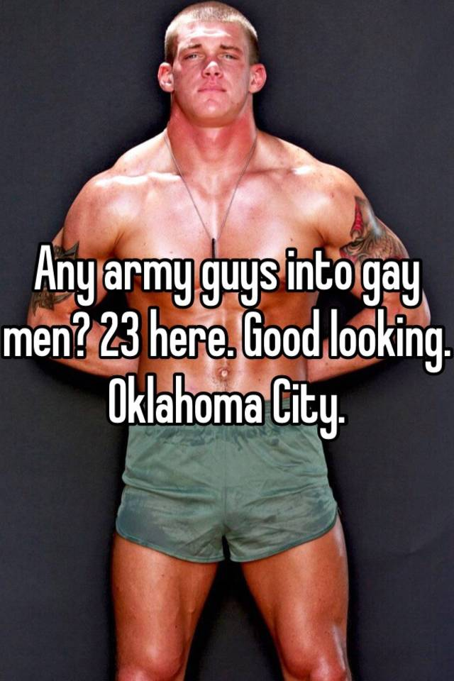 Looking for gay men