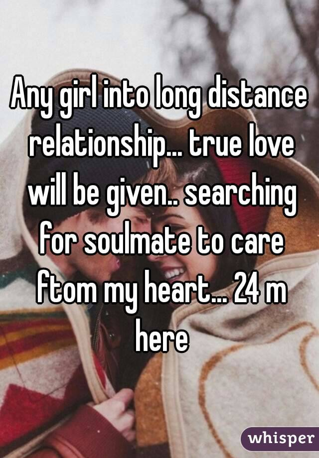 how to convince a girl into long distance relationship