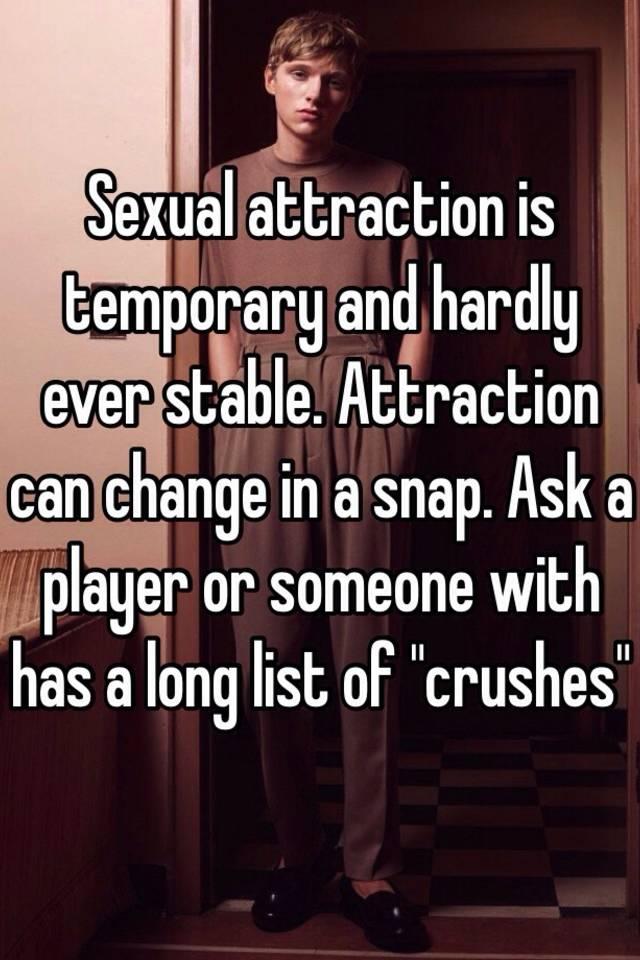 Temporary sex chnge