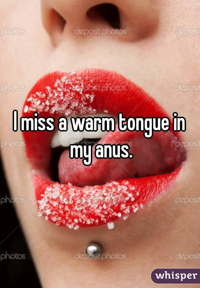 Thank for tongue in the anus apologise, but