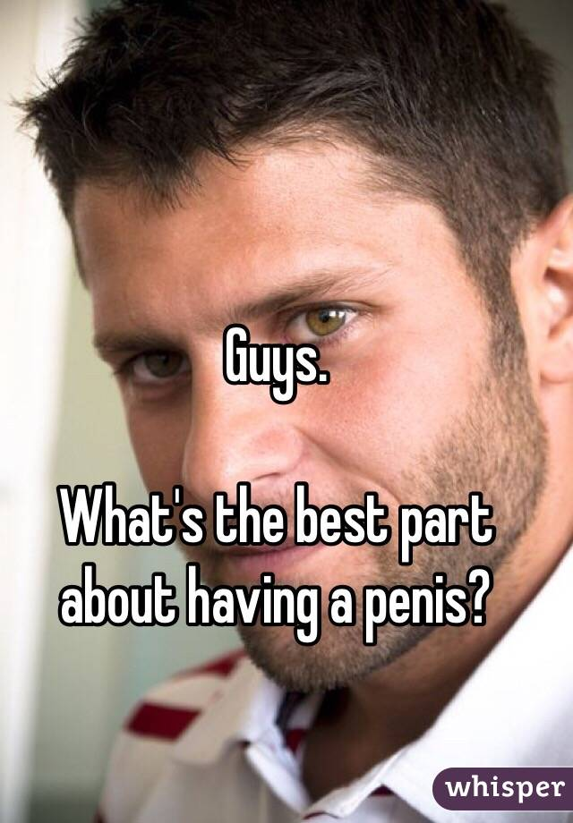 whats it like having a penis