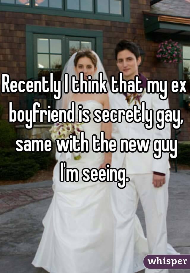 is my boyfriend secretly gay