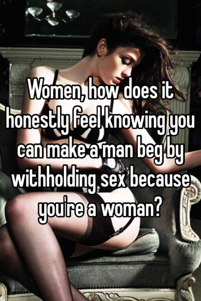 How does sex feel for a guy