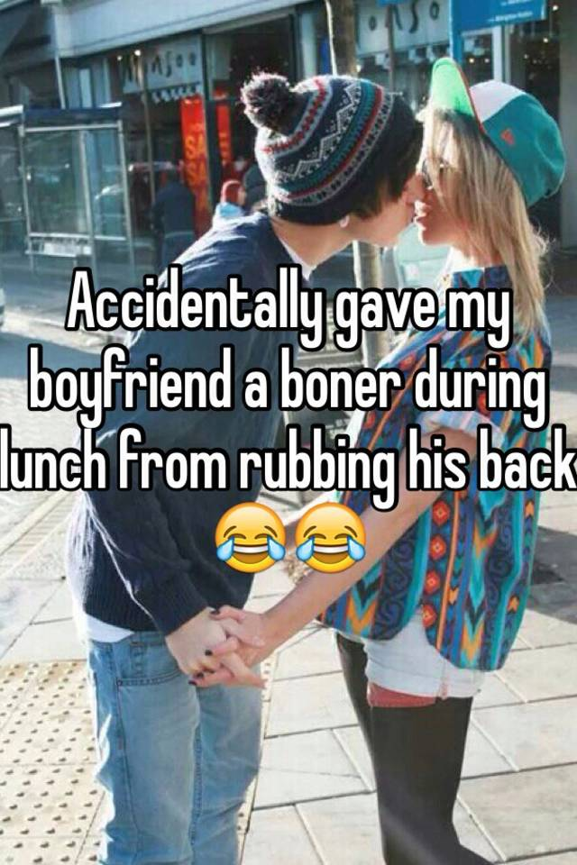 Boner rub
