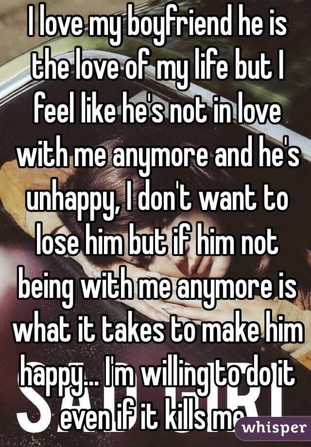 i don t like my boyfriend anymore