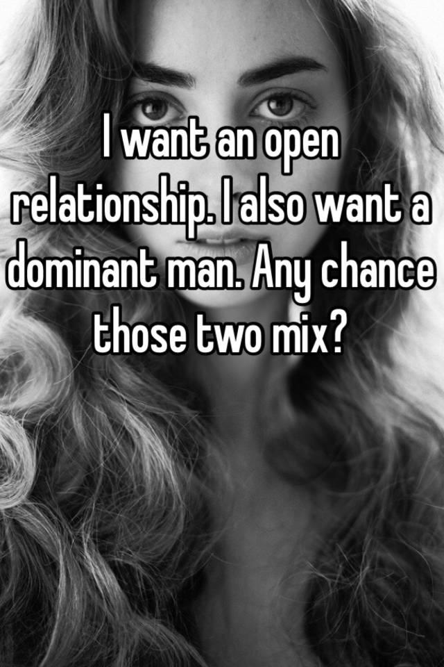 I want a dominant
