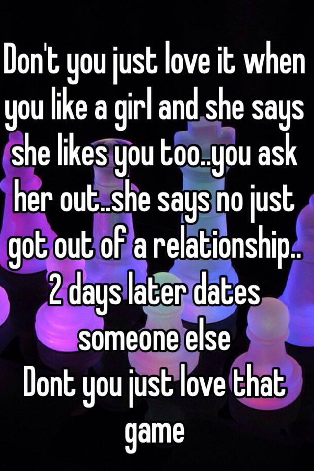How to tell a girl you love her when she likes someone else