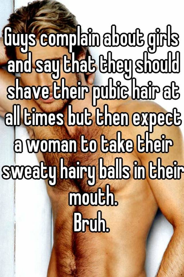 Shaved or hairy pubic area easier