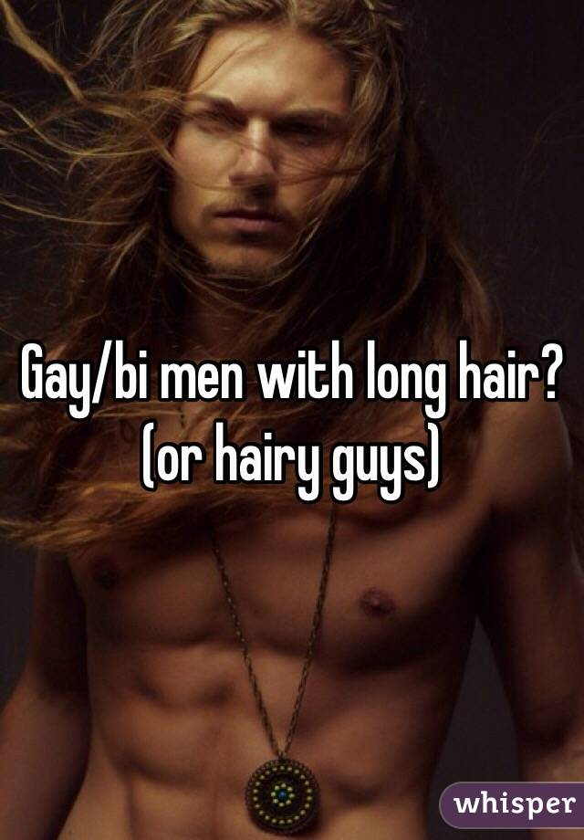 Long haired gay guys — 9