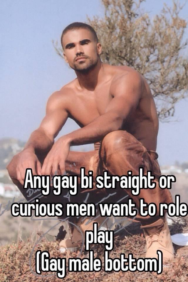 straight curious gay