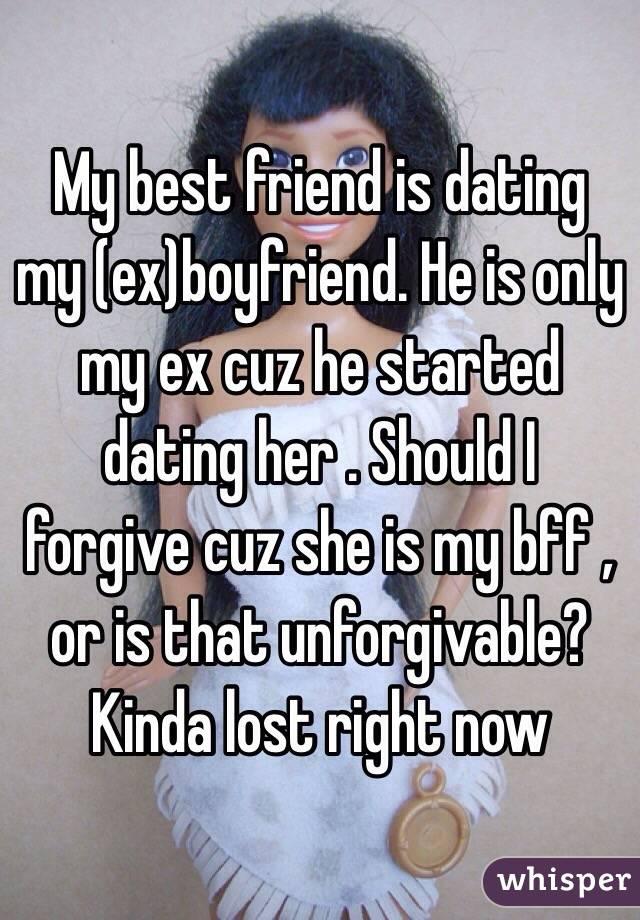 Dealing with an ex dating a friend