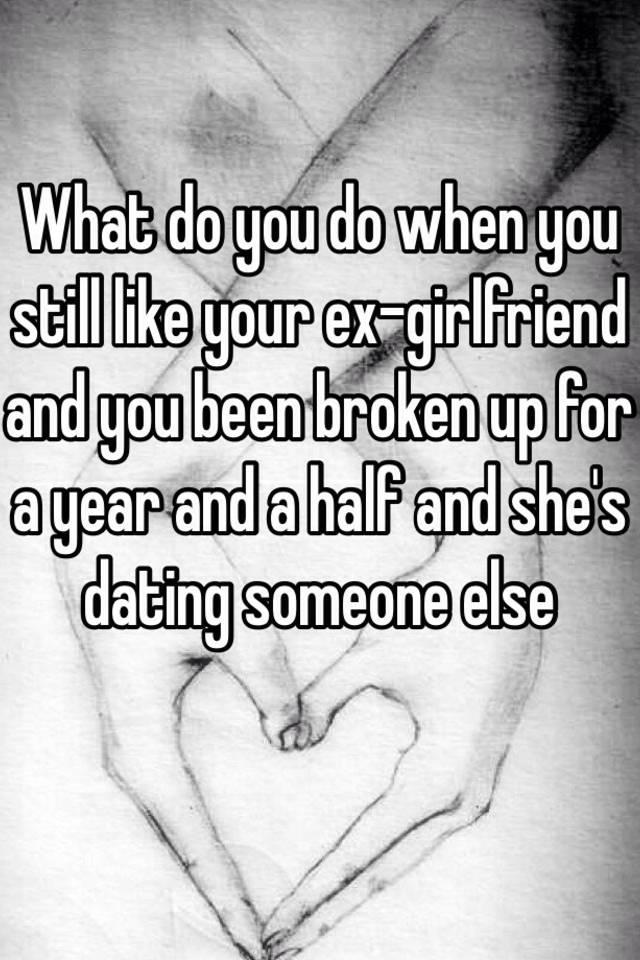 get over ex dating someone else