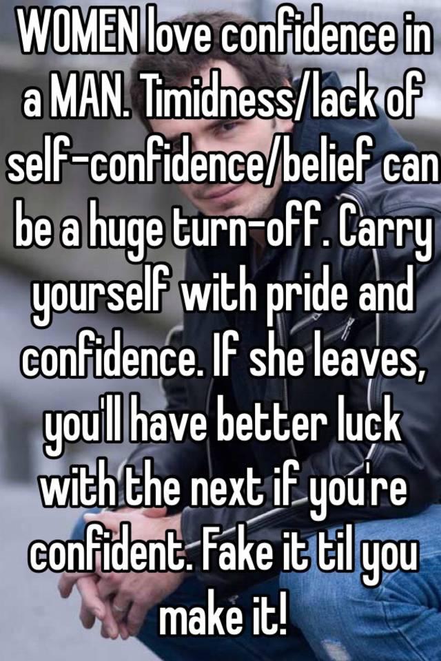 PEARL: Do women like confidence