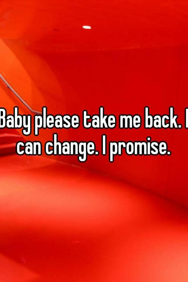 Take Me Back Baby