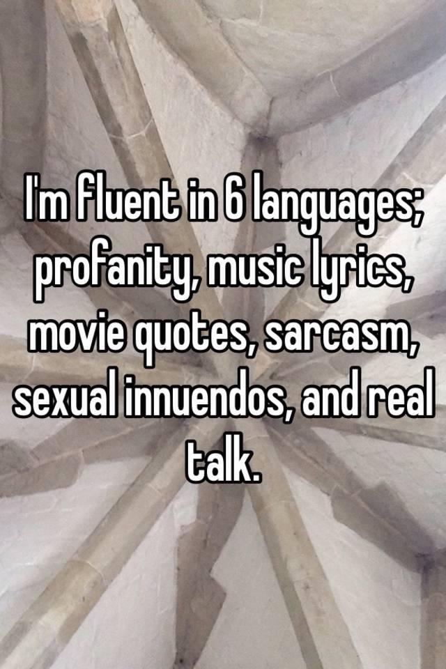 Sexual innuendo movie quotes