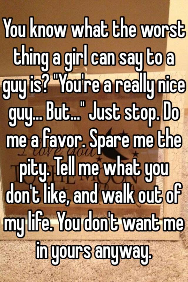 What nice things to say to a girl