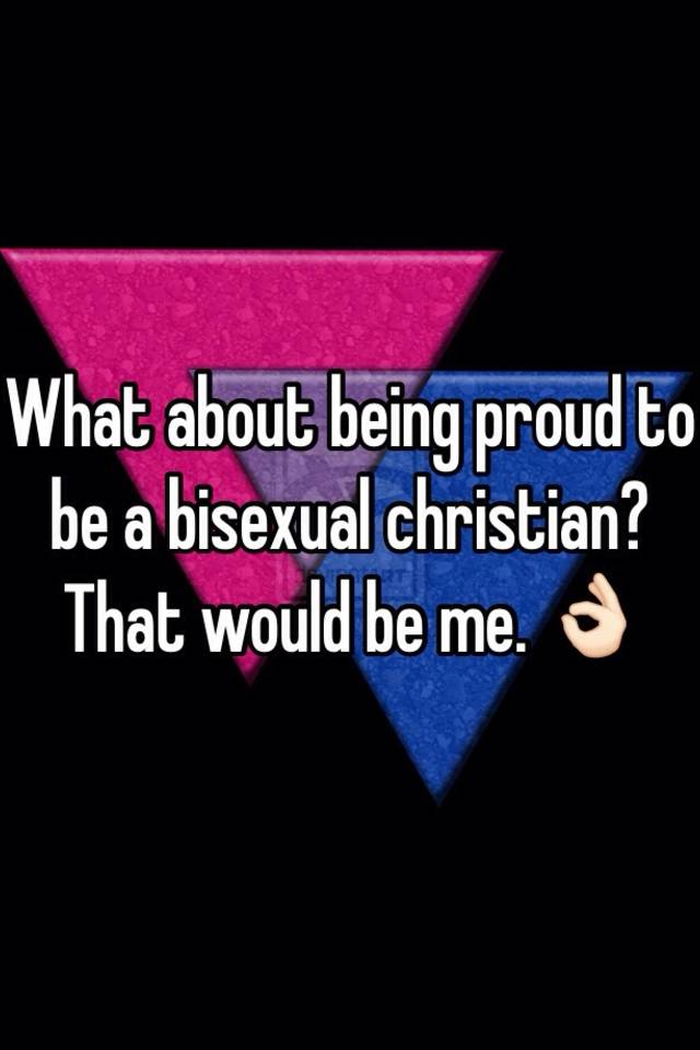 Bisexual christian
