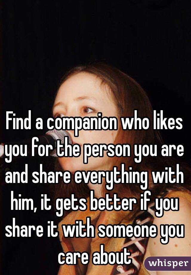 Find a companion
