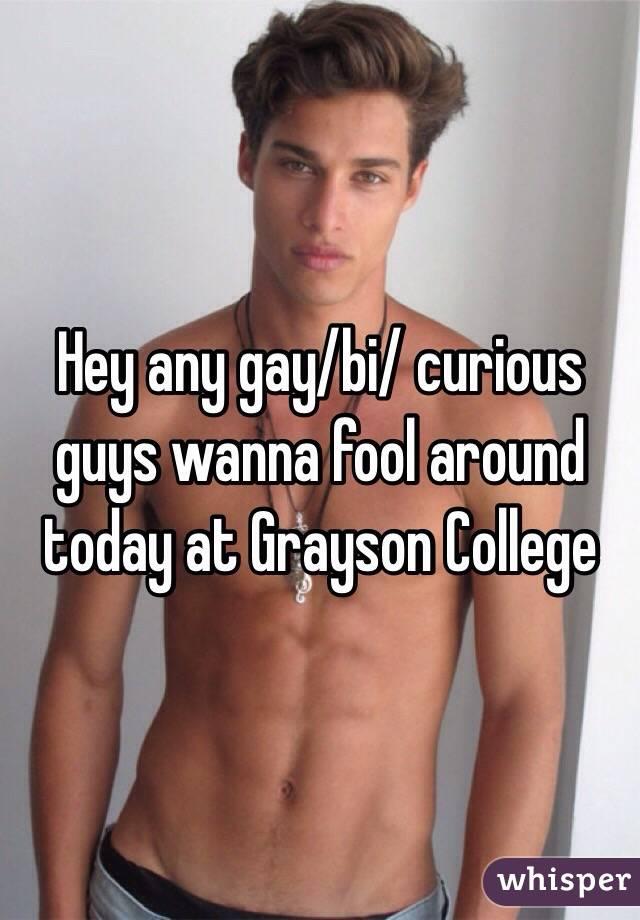 Bi college boys