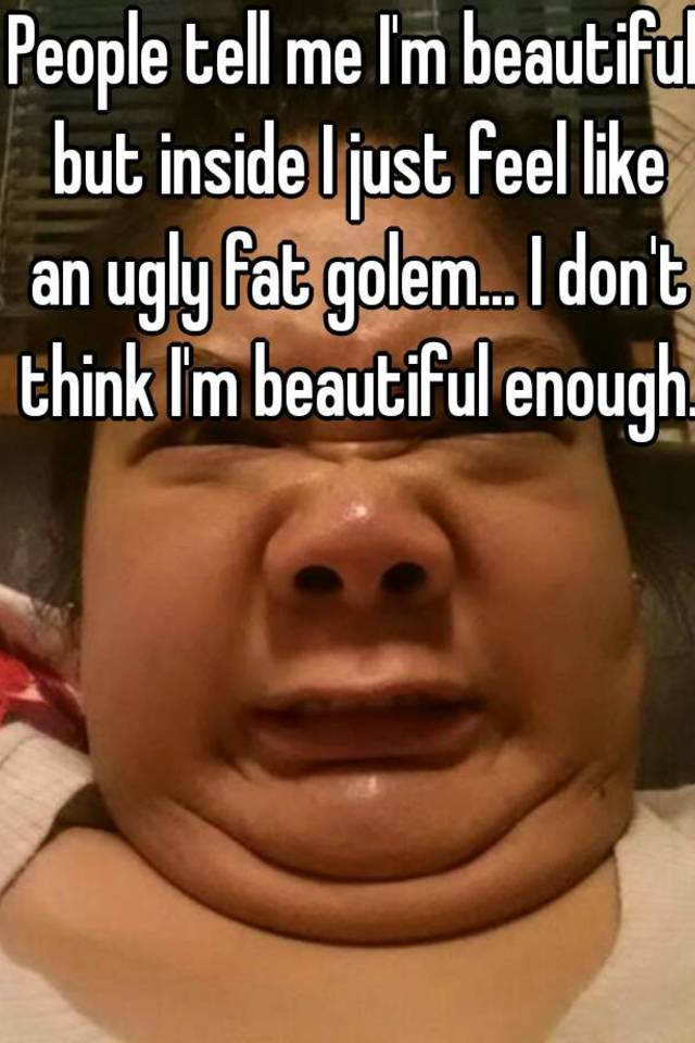 really ugly fat people