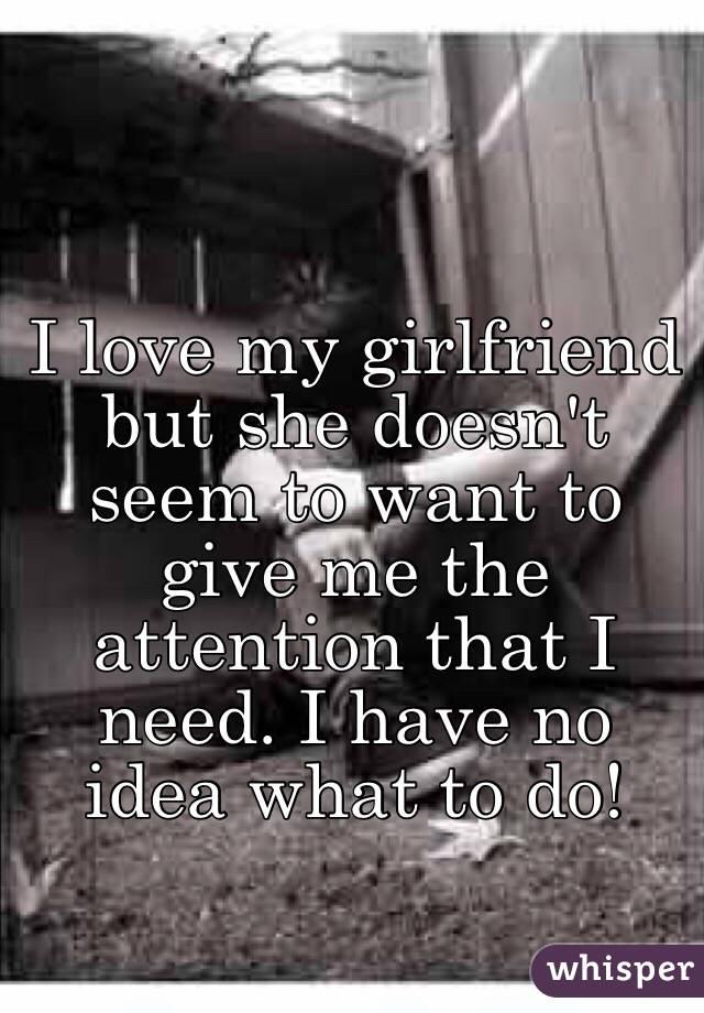 do i still love my girlfriend