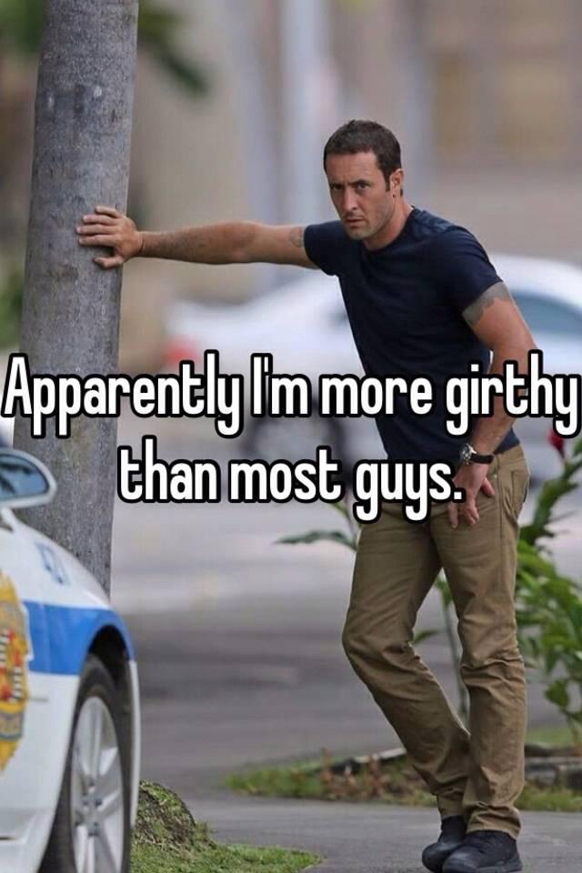 Girthy man
