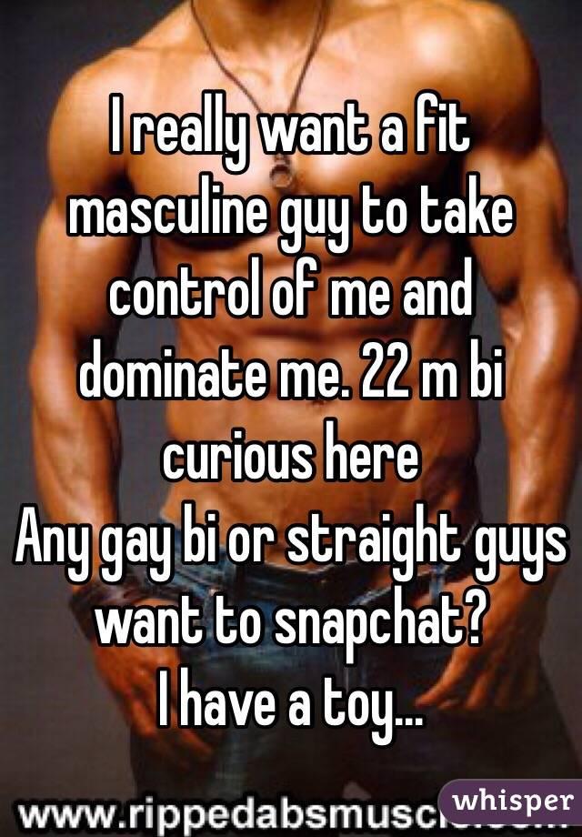 You gay guys dominate straight guys