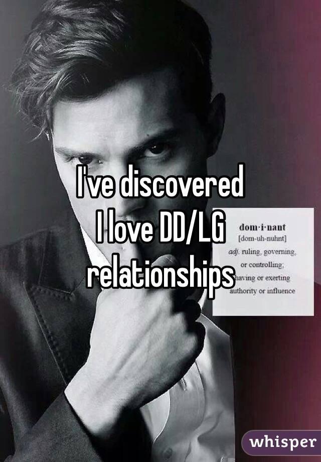 Ive discovered I love DD/LG relationships